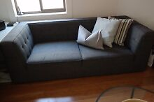 3 seater charcoal sofa Canada Bay Canada Bay Area Preview