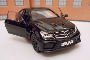 PERSONALISED PLATES MERCEDES C63 AMG Model Toy Car boy dad Birthday gift NEW!