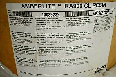 Amberlite Ira900cl Ion Exchange Resin Drum