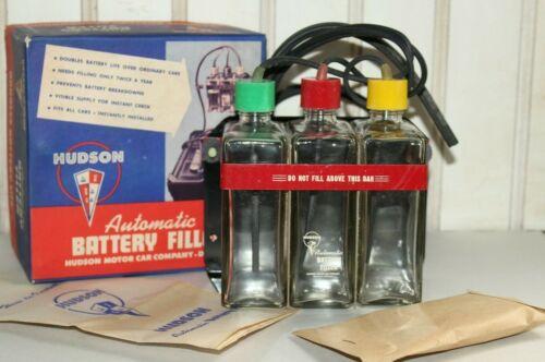 Vintage Hudson Motor Car Co Automatic Battery Filler