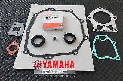 YAMAHA OEM GOLF CART MOTOR ENGINE REBUILD KIT RINGS, GASKETS,SEALS G2 1985-1991
