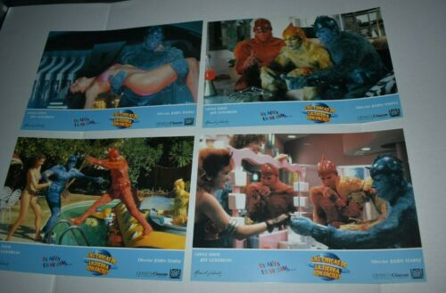 1989 EARTH GIRLS ARE EASY  Spain Lobby Card set of 12 geena davis