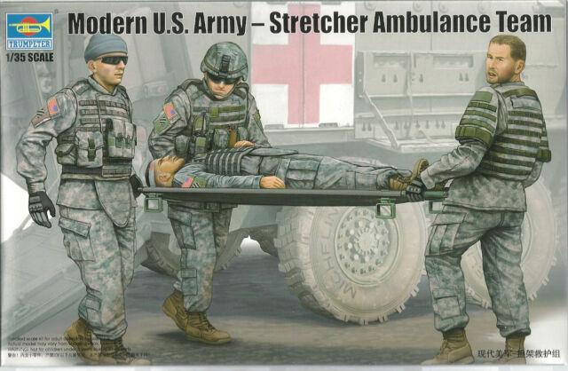 Trumpeter 00430 Modern US Army Strecher Ambulance Team 1:35