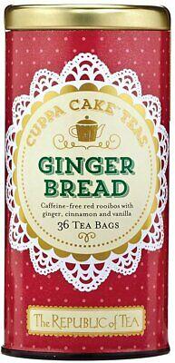 The Republic Of Tea Gingerbread Cuppa Cake Rooibos Red Tea,