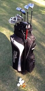 Golf clubs RH men's Perfect starter set includes bag & putter Alphington Darebin Area Preview