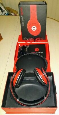 Beats by Dre Studio Over Ear Wired Headphones Red  MONSTER HEADSET