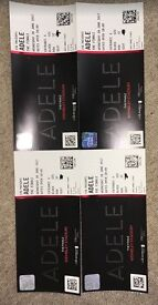 Adele Tickets x 4 Wednesday 28th June