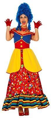 Happy Maggie Zirkus Clown Damenkostüm NEU - Damen Karneval Fasching Verkleidung