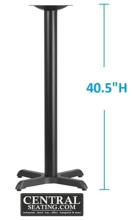 """Bar Height Restaurant Table Base Pedestal Kit for 42"""" Tall T"""