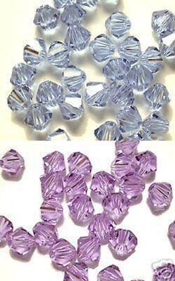Swarovski bicone Austrian crystal beads faceted Alexandrite 3mm 4mm 6mm 8mm