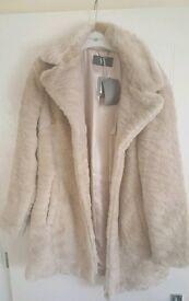 Women's BHS Faux Fur Coat