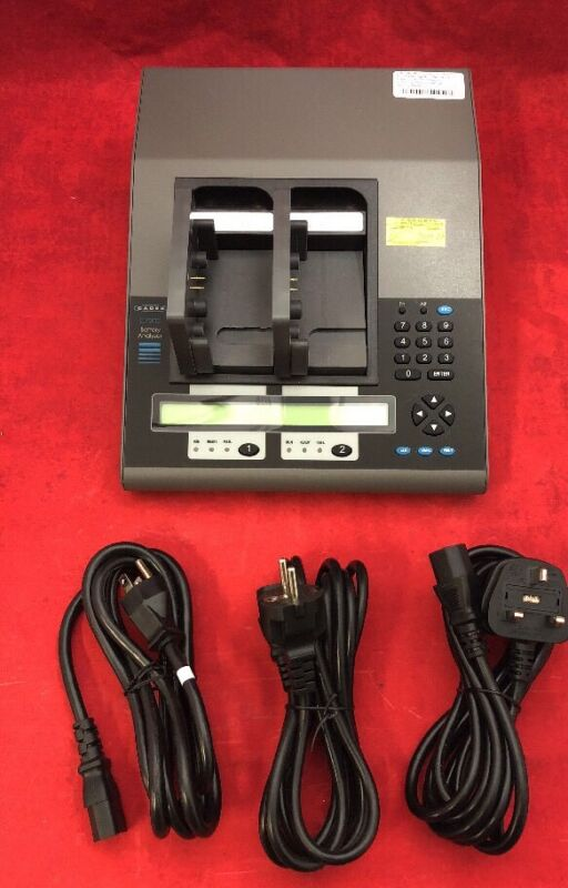 New Cadex C7200 Battery Analyzer/charger For Philips M3538a See Listing