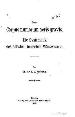 Kyпить  DVD - 260 numismatische Bücher Alte Rom Römischen Reiches Republik Caesar Nero на еВаy.соm