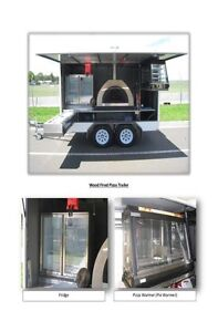 Wood Fired Pizza Trailer Business Cairns Cairns City Preview
