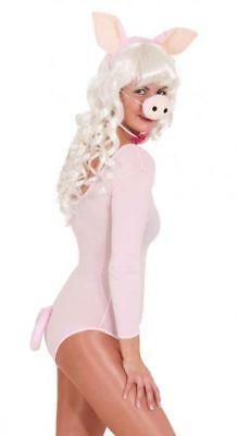 ostüm Schwein Karneval Fasching Ohren Nase Schwanz (Schwein Schwanz Kostüm)