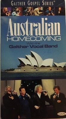 Gaither Gospel Series Australian Homecoming 2 Video Set-VHS-TESTED-RARE-SHIP N24 for sale  Grand Rapids