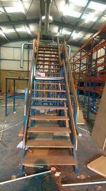 3.5m High Mezzanine Staircase £800 + Vat