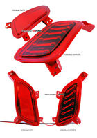 Hyundai Veloster Rear LED bumper marker light