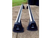 Thule Roofbars and Footpack for Peugeot 407. Reduced price!