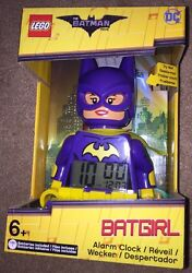 Lego 9009334 Minifigure Alarm Clock Batman Movie DC Comics Batgirl Clictime