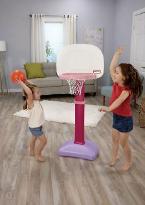 Basketball Hoop For Girls Toddler Gifts Kids Sports Toy Pink Indoor Outdoor Fun