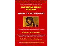 Byzantine Music Concert