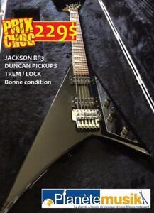 Prix de liquidation guitares - Jackson RR3, Martin LX1, ukulele et bien plus
