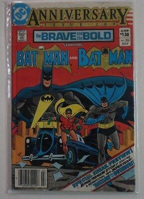 Brave and the Bold Batman #200 (1983) DC 1st Appearance KATANA