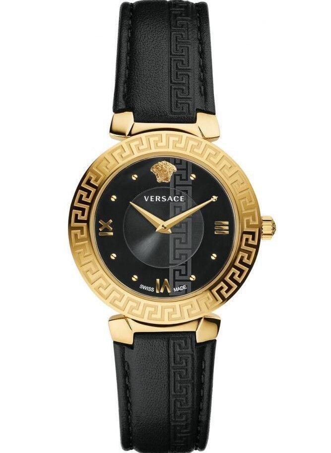 Versace V16050017 Daphnis Gold Tone SS Case Womens Watch