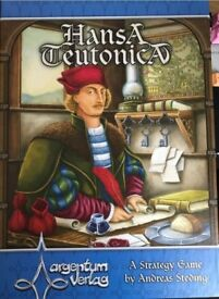 Hansa Teutonica Board Game including expansion