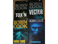 Robin Cook books (medical thrillers)
