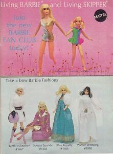 Barbie Katalog - Living Barbie and Living Skipper USA 1970 (Variante B)