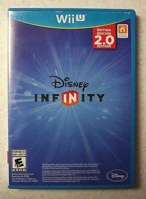Disney Infinity -- 2.0 Edition (Nintendo Wii U, 2014, Complete)