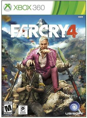 Far Cry 4 Xbox 360 - Brand New Factory Sealed - Free Shipping!