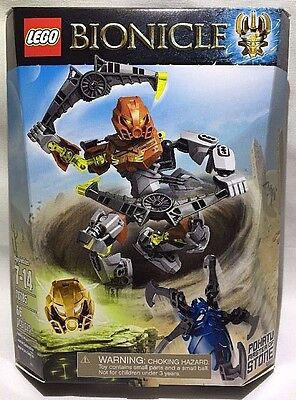 Lego Bionicle Pohatu Master of Stone 70785 Golden Mask of Stone 66 Pcs - NEW