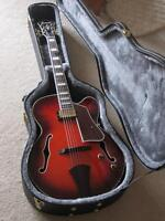 Mint condition Ibanez AFJ81 Archtop