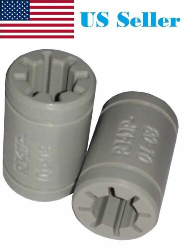2PCs 3D Printer Solid Polymer LM8UU Bearing 8mm shaft - Igus Drylin RJ4JP-01-08