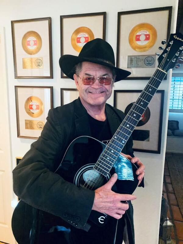 MICKY DOLENZ DIRECT! NEW ITEM #5 - BLACK EPHIPHONE ACOUSTIC GUITAR SIGNED! VIDEO