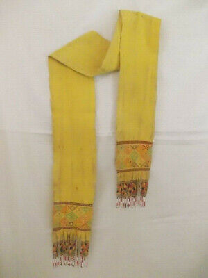 Sash Belt Hand Woven Weaving Kelim and Tribal Motif No Ikat West Timor Indonesia