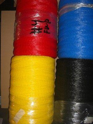 Plastic Mesh Tube Spool 12w Layflat Vexar Roll 12x 10000 Black Reg324.95