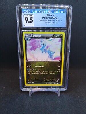 Pokemon Legendary Treasures Altaria Reverse Holo 92/113 CGC 9.5 GEM MINT (PSA)
