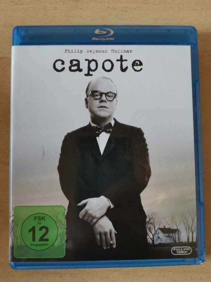 CAPOTE   Blu Ray   mit Philip Seymour Hoffman