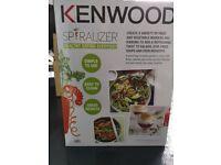 Kenwood spiraliser