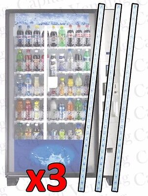 3 Bulb Led Kit For Dixie Narco Bev Max 2 3 And 4 Glassfront Vending Machine