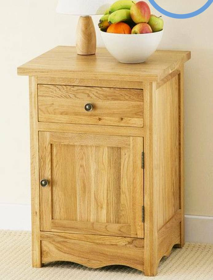 Oak Furniture Land Cairo Solid Oak Bedside Table In South Croydon