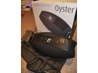 Damson Oyster Portable Wireless Bluetooth Speaker - Black