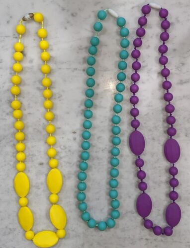 Trendy Mommy ChewBeads Itzy ritzy Teething Necklaces Baby-Safe Jewelry Silicone