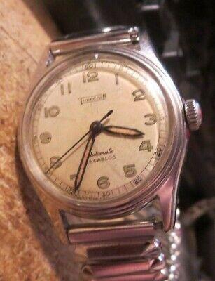 Vintage Timecraft 17 jewel military style Automatic Incabloc men's watch