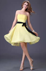 Stock-Chiffon-Formal-Bridesmaid-Evening-Party-Prom-Gown-Sweetheart-wedding-dress