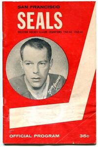Vtg-Nov-19-1965-San-Francisco-Seals-Hockey-Program-Seattle-Totems-Jerry-Brisson